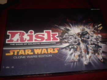 Star Wars Risk: Clone Wars Edition